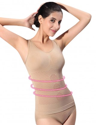 Traditional Skin U Neck Sleeveless Cami Shaper Seamless Hourglass