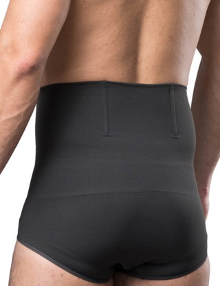 Supportive Grey Bamboo Charcoal Pure Color Male Butt Enhancer Super Faddish