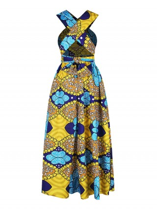 Delightful Maxi Dress Digital Print High Rise For Every Occasion