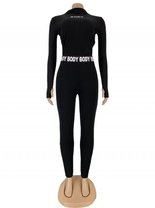 Long Sleeve Full Length Black Women Suits Fashion Clothing Online