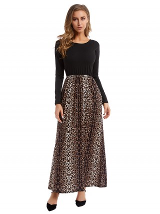 Stretch Plus Size Maxi Dress With Pockets Chic Fashion