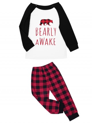 Crew Neck Elastic Waist Home Wear For Kids Shop Online