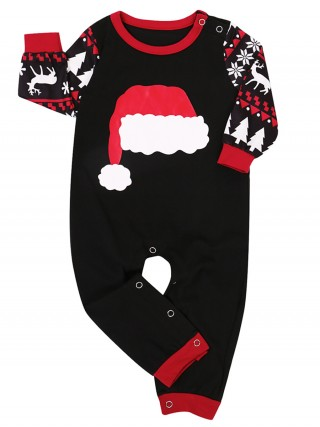 Christmas Tree Paint Patchwork Jumpsuit For Baby Fashion Ideas