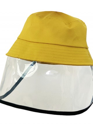 Cute Yellow Children's Protective Hat With Isolation-Shield
