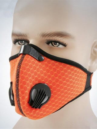 Best Design Orange Wind-proof PM2.5 Activated Carbon Mask Valve
