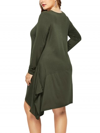 plus size midi dress
