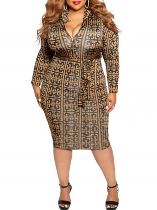 Bodycon Dress Plus Size Long Sleeves Female Clothing Online