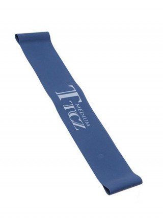 Slimmer Blue Letter Pattern Rubber Elastic Band Ladies