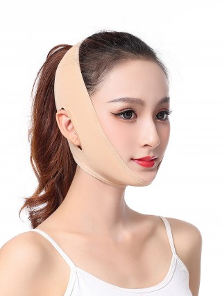 Super Comfy Skin Color Sticker Face Slimming Band Open Ear Stretchy