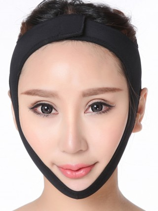 Instantly Slims Black Sticker Face Belt Uplift Shaping Mask Close Fitting