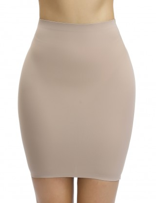 Sleek Skin Seamless Plain High Rise Butt Lifter Skirt Good Elastic