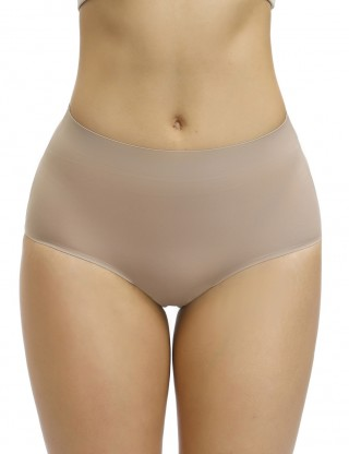 Defining Moment Skin Seamless Plain Butt Enhancer Panty Flat Tummy
