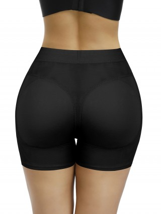 Amazing Black High Waist Hip Enhancer Shaper Pants Bodycon