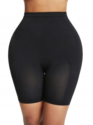 Perfect Black High Waist Seamless Panty Shaper Magicwear