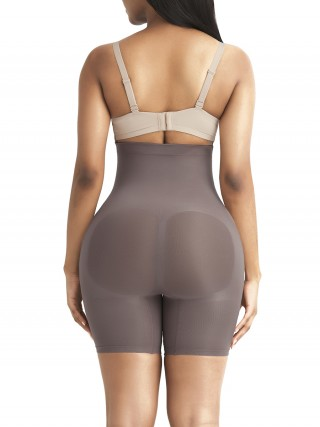 Compression Purple Shapewear Panty Seamless Large Size Bodycon