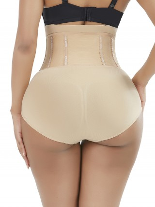 Essential Skin Color Shaper Shorts 4 Steel Bones High Waist Super Faddish