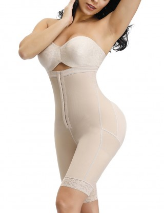 Sophisticated Skin Butt Enhancer Shaper Plain High Rise Perfect-Fit