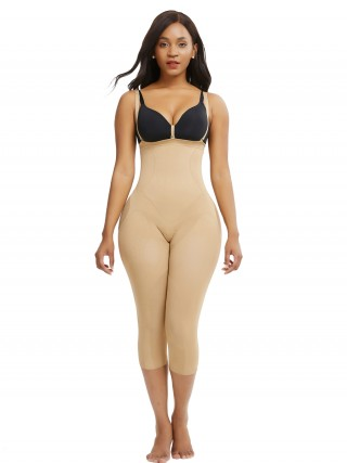 Perfect Skin Color Seamless Full Body Shaper Large Size Control Midsection