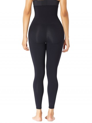 Black High Waist Shaping Leggings Butt Lifting Slimming Tummy