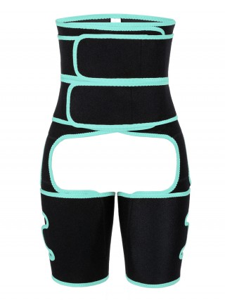 Meticulous Design Light Green Neoprene High Waist Thigh Shaper Sticker