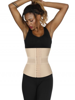 Graceful Skin Plus Size 16 Steel Boned Waist Trainer Bandage Fat Burner