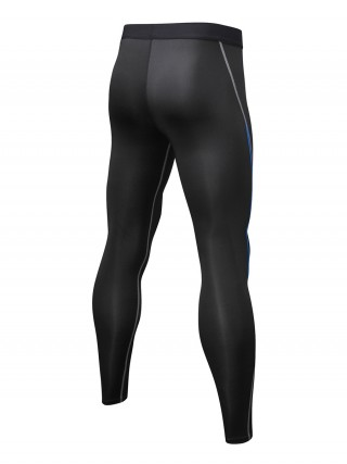 Classic High Waist Sports Leggings Quick Drying For Male