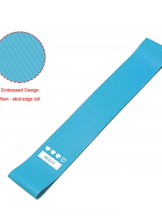 Exclusive Blue Household Fitness Yoga Latex Tension Band