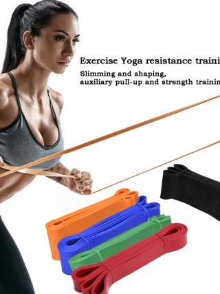 Must-Have 5Pcs Yoga Resistance Belts High Stretch