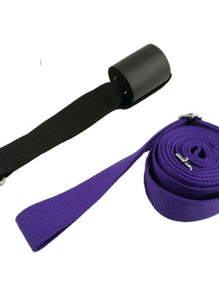 Simple Leg Stretcher Adjustable Buckle Solid Color