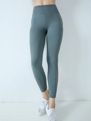 Best Design Light Gray High Waist Yoga Legging Lift Butt Feminine