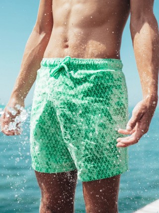 Fashionable Quick Dry Beach Shorts Heat Reactive Comfort Fit