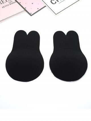 Captivating Black Wireless Invisible Bra Solid Color Affordable Wholesale