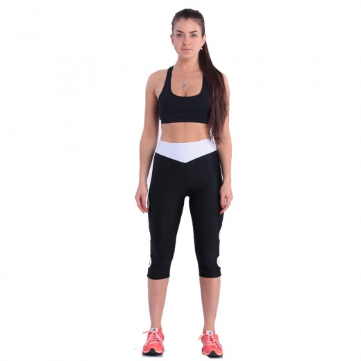 Skinny Hollow Out Design Sports Leggings