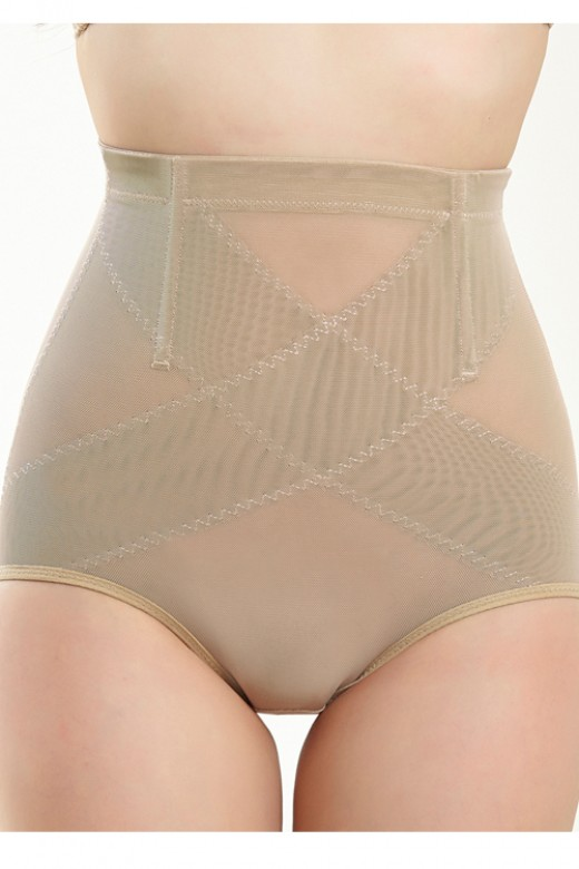 Nude High Waist Slimming Corset Butt Lifter