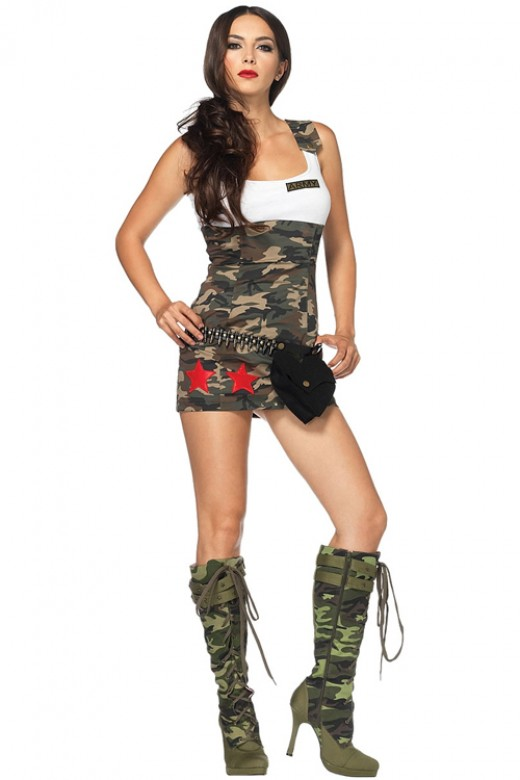 Submissive Camouflage Pattern Valiant Army Fancy Dress Ideas