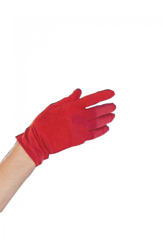 Red Short Glove