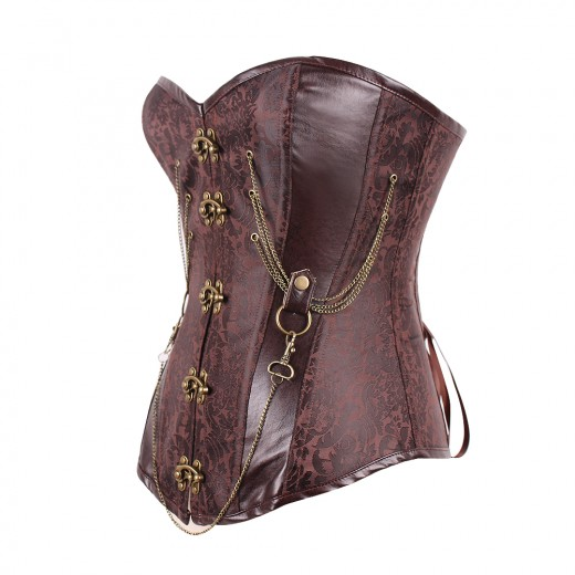 Glam Rock Custom Women's Steel Boned Steampunk Gothic Corsets