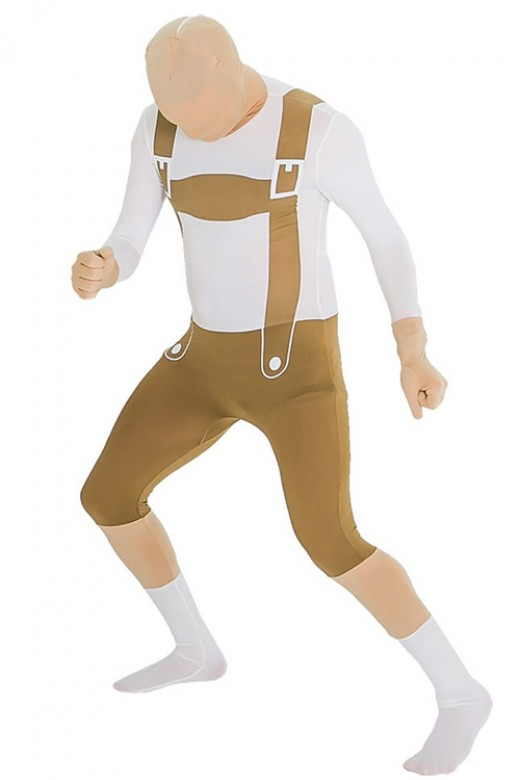 Cool Suspender Pant Beer Costumes Oktoberfest Mens Outfits