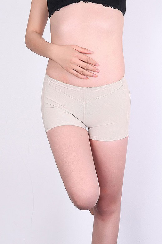 Nude Thin Low Waist Open Bottom Butt Lifter Panty