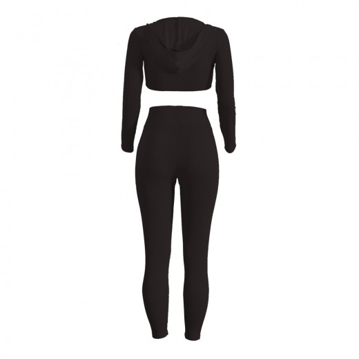 Workout Bodycon Long Sleeve 2 Piece Rompers