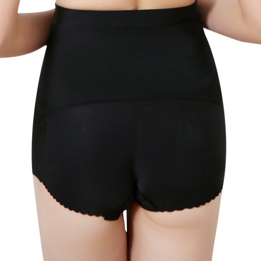 Booty Control Traceless Black Bum Shaping Underwear