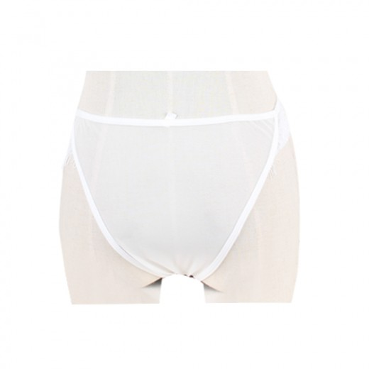 Women's Comfort  White Lace Panty