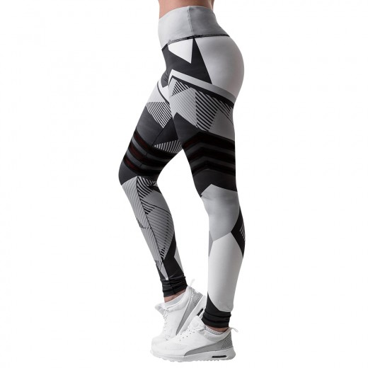 Breathable  Seamless Printed Tight Gym Running Leggings