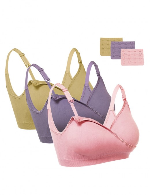 Wireless Stretchy Maternity Bra Full Cup Ultra Cheap