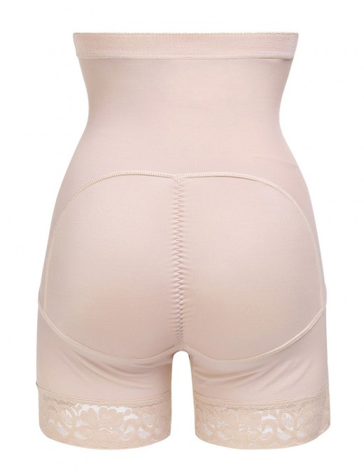 Sculpting Nude High Waist Buttock Lifter Strapless Postpartum Recovery