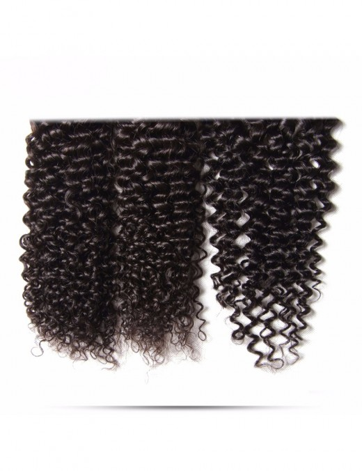 Brazilian Jerry Curly Bundles 1/3 Piece Human Hair Extensions