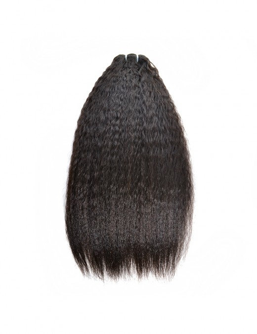 Brazilian Kinky Straight Bundles 1/3 Piece Human Hair Extensions