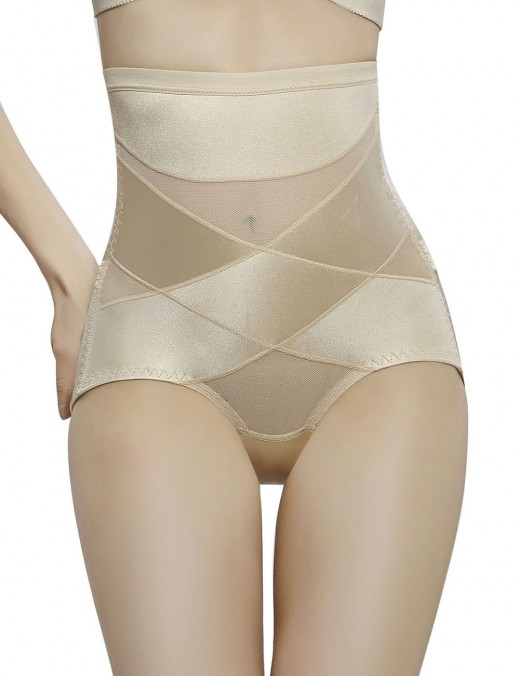 Compression Silhouette Nude Back Opening Butt Lifter High Rise