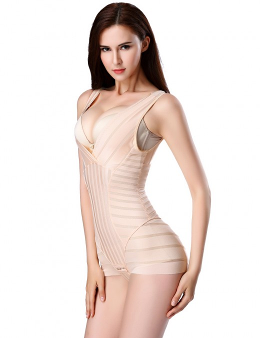 Impeccable Apricot Queen Size Bidysuits Mesh Crotch Hooks Sensual Curves