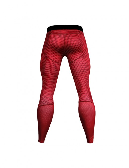 Stylish Snake Pattern Quick Dry Tights Large Size Workout Apparel